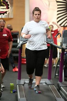 Danni running backwards. #BiggestLoser