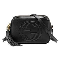Gucci Soho Disco Black Small Shoulder Bag Free Shipping Today ($1,060) ❤ liked on Polyvore featuring bags, handbags, shoulder bags, shoulder bag handbag, purse shoulder bag, handbag purse, gucci shoulder handbags and gucci purse