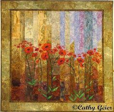 Cathy Geier's Landscape Quilts (31 photos)                                                                                                                                                      More