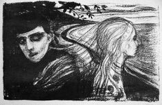 Edvard Munch - Separation I [1886]