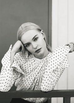 Smile: Kate Bosworth in InStyle US November 2016 by Thomas Whiteside