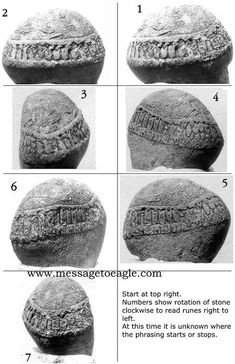 The incredible Roseau Stone discovered in Minnesota, USA, could easily re-write our history ~ The stone does not only reveal that several ancient civilizations from across the sea visited North America in prehistoric times, but also that our ancestors were familiar with writing 200,000 years ago. inscription was made by ancient Greek and Egyptian civilizations. There are even Sumerian signs. Sumer is considered to be the first civilization on Earth.