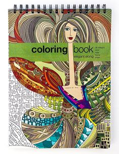 Elegant Elong Adult Coloring Book -- Large (8.62 x 11.75 inches)