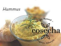 Excelente domingo :) Hoy tenemos una deliciosa receta para acompañar tus platillos. HUMMUS Ingredientes: +Dos dientes de ajo +200 gr de garbanzo cocido +Dos cucharadas de aceite de oliva o coco +Dos...