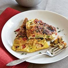 Summer Vegetable Frittata Garden-fresh summer vegetables will make this frittata a special breakfast or brunch treat.