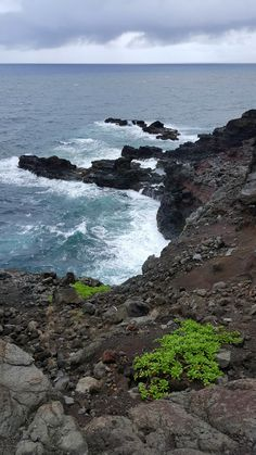 Side of the Cliff in Maui