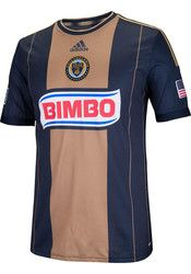 40% OFF! Use promo code: MLSJ40. Adidas Union Mens Navy Blue Authentic Kit Soccer Jersey