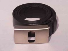Classic #Black #Leather #Men's #Trouser #Belt #Handmade to #Measure by #BuckleMyBelt from 100% #Italian #Hide. Buy yours on-line today from our easy to use marketplace. All belts made by hand for each individual customer.