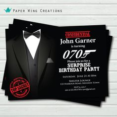 Hey, I found this really awesome Etsy listing at https://www.etsy.com/listing/172072075/surprise-birthday-invitation-70th