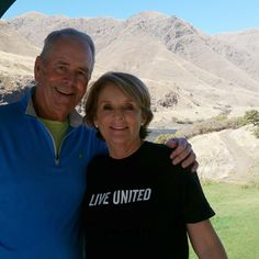 Love this photo of Mary and Tom Gilbane following Lewis and Clark's journey along the Columbia River. This year's Traveling T-shirt contest is over, but we always welcome seeing where you've worn your Live United T-shirt.