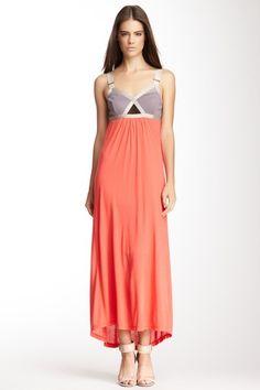 Convexity Breaker Maxi Dress on HauteLook