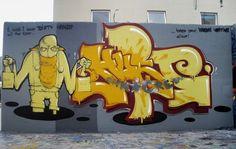 Street Art of the World - Urban Artists - Mr Pilgrim Graffiti Artist / www.mrpilgrim.co.uk