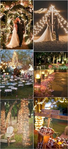 Combine Fairylights Wedding