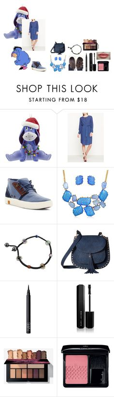 """For Scarlett (friend) - Scarlett's ideal wardrobe by me: #316: Eeyore from 'Winnie the pooh'"" by sarah-m-smith ❤ liked on Polyvore featuring Disney, M.i.h Jeans, Timberland, Bling Jewelry, NOVICA, Gabriella Rocha, NARS Cosmetics, Marc Jacobs and Guerlain"