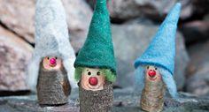 Hauskat puutarhatontut Decorative Bells, Christmas Ornaments, Holiday Decor, Home Decor, Decoration Home, Room Decor, Christmas Jewelry, Christmas Decorations, Home Interior Design