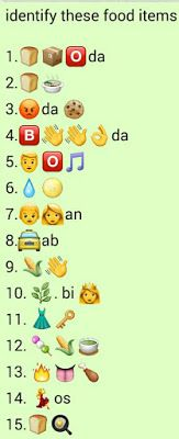 {Latest} Top 10 Whatsapp Puzzles Quiz with answers 2019 Guess The Emoji Answers, Quiz With Answers, Funny Quiz Questions, Trivia Questions And Answers, Funny Puzzles, Word Puzzles, Jumble Puzzle, Puzzles And Answers, Ladies Kitty Party Games