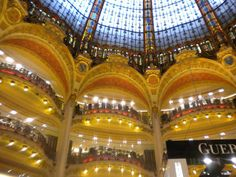 Mall in Paris, France. 2010.