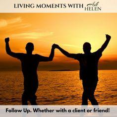 Never underestimate the importance of follow up!  www.askhelen.ca  #LivingMomentsAskHelen #askhelen #goals askhelenca#intuitive #clairvoyant #psychic #medicalintuitive #lifecoach #healing #spiritual #intuitiveintelligence #holistic #holistichealth #healer #medium #medicalmedium #spiritual #spiritualhealer #energy #energyguide #guide #life #power #consciousness #zen #mindfulness #intuition #love Spiritual Healer, Spirituality, Medical Intuitive, Never Underestimate, Intuition, Consciousness, Zen, Healing, Mindfulness
