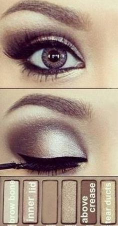 Smokey nude eyes!