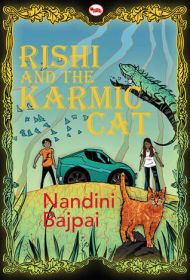 Book Review : Rishi And The Karmic Cat By Nandini Bajpai (#Giveaway) - Indian Moms Connect