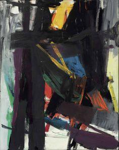 lawrenceleemagnuson:  Franz Kline (1910-1962) King Oliver (1958)oil on canvas 251.4 x 196.8cm