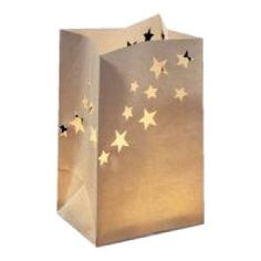 Luminous Paper Lanterns - Star design - oriental wedding theme  http://www.uniqueweddingfavours.co.uk/weddingfavours/Ivory-Paper-Lanterns-star-design-pack-of-5-1327.html