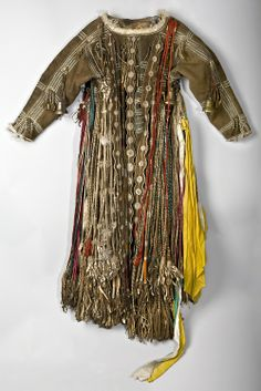 Woman's Shaman Caftan 19th Century Irkutsk Region,...