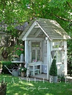 Garden shed or reading nook.
