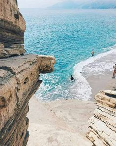 Triopetra beach,Crete island, Greece