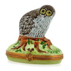 Owl Limoges Box
