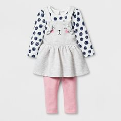 Cat /& Jack Baby Girl 12 18 Months Cardigan Sweater one Button Ivory Gold Bow