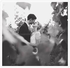 romantic vineyard wedding portraits Connecticut vineyard wedding // A Polished Plan Wedding Planner // Michelle Gardella Photography // Jonathan Edwards Winery // Hana Floral Design // Everthine Bridal // DD Nickel //  Pistachio Press