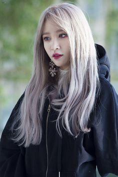 Ahhhh q linda ela ♡ Kpop Girl Groups, Kpop Girls, Korean Girl, Asian Girl, Ahn Hani, Girl Sday, Idole, Korean Beauty, Girl Crushes