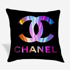 Throw Pillow Covers, Throw Pillows, Chanel Logo, Drink Sleeves, Amazon, Toss Pillows, Amazons, Cushions, Riding Habit