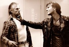 Near Dark. Bill Paxton and Tim Thomerson. Near Dark, Oscar Wins, Female Directors, Horror Themes, Vampires And Werewolves, Vincent Price, Super Mario Brothers, Popular Culture, Werewolf