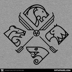 Hogwarts Houses #Gryffindor #Hufflepuff #Ravenclaw #Slytherin