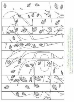 Maps, Pergamano and images - Page 5 Fall Art Projects, School Art Projects, Art School, School Holiday Activities, Activities For Kids, Doodle Coloring, Coloring Pages, Coloring Sheets, Art Room Doors