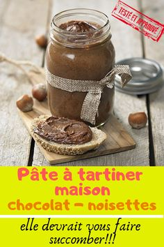 Pate a Tartiner Maison | pate a tartiner maison chocolat | pate a tartiner maison chocolat noir | pate a tartiner maison chocolat vegan | pate a tartiner maison chocolat noisette | pate a tartiner maison facile | pate a tartiner maison healthy | pate a tartiner maison minceur | pate a tartiner maison noisette | pate a tartiner maison saine | pate a tartiner maison recette | nutella maison facile | nutella maison sain | nutella maison recette | meilleur nutella maison | nutella maison minceur Nutella Blondies, Nutella Pancakes, Nutella Cookies, Nutella Cake, Easy Homemade Recipes, Easy Cake Recipes, Coconut Milk Smoothie, Homemade Frappuccino, Easy Vanilla Cake Recipe