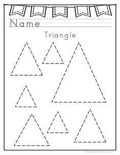 Triangle Worksheet for Kindergarten. 20 Triangle Worksheet for Kindergarten. All About Triangle Shapes Shape Worksheets For Preschool, Shape Tracing Worksheets, Free Preschool, Preschool Curriculum, Preschool Printables, Preschool Learning, Kindergarten Worksheets, Preschool Activities, Graphing Worksheets