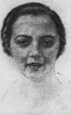Autorretrato - María Teresa Jiménez de Blas.(Ávila,1897) Maria Teresa, Art, Art Background, Kunst, Gcse Art, Art Education Resources, Artworks