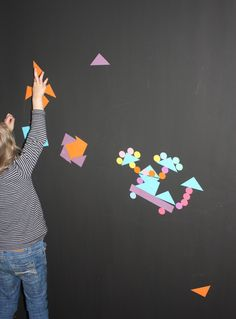 How to make a magnetic activity wall