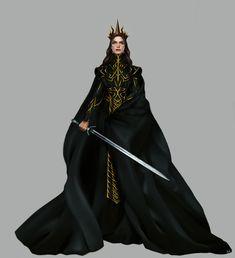 Queen of the Night by MORGANA0ANAGROM.deviantart.com on @DeviantArt