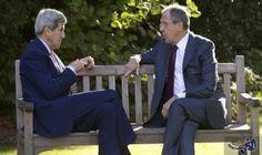كيري ولافروف يبحثان الأزمة السورية الأسبوع المقبل: أعلن وزير الخارجية الأمريكي، جون كيري، الجمعة، أنه سيبحث مجدداً الأزمة السورية مع نظيره…