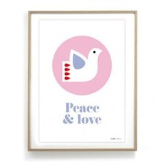 Affiche - Peace and love