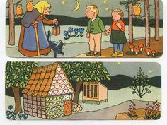 """""""Hänsel und Gretel"""" Lesezeichen-Set"""