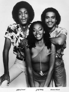 Shalamar.  Two of the 3 members of this group were discovered as Soul Train dancers.  The female lead was born on January 30, 1959 ... same day as me!