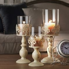 Cheap tall glass candlesticks, Buy Quality white candle holder directly from China candle holders Suppliers: STAYGOLD Vintage Home Decor Romantic Wedding Decoration Candle Holders White Candle Holders Tall Glass Candlesticks Metal Crafts Cheap Candle Holders, White Candle Holders, Candle Holders Wedding, Shabby Chic Candle Holders, Candle Holder Decor, Lace Candles, White Candles, Votive Candles, Glass Candlesticks
