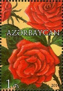 Sello: Rose (Azerbaiyán) (Roses) Mi:AZ 1059A