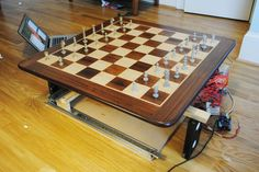 Picture of How to Build an Arduino Powered Chess Playing Robot