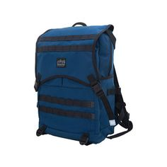 Manhattan Portage Fort Hamilton Backpack ($199) ❤ liked on Polyvore featuring blue